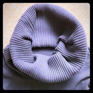 Drumohr Black cashmere cowl Neck sweater